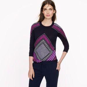 Jcrew merino wool tippi sweater